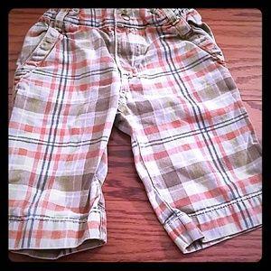 Charlie Rocket Plaid Pants Size 4